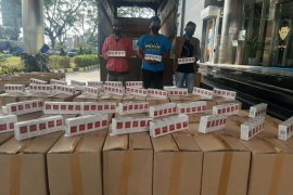 Bea Cukai gagalkan pengiriman 3,6 juta rokok ilegal  tujuan Sumatera