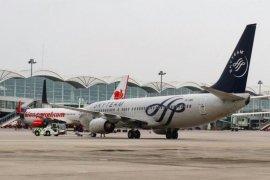 Jumlah penumpang di Bandara Kualanamu Deli Serdang bergerak naik