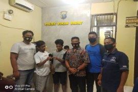 Polsek Binjai Barat tangkap dua tersangka pemilik sabu-sabu