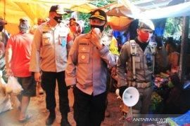 Polresta Banjarmasin gelar Operasi Gaktiblin pencegahan COVID-19 di area pasar