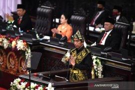Presiden Jokowi tekankan pentingnya penguatan cadangan pangan dan koperasi