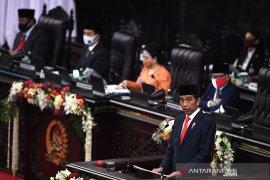 Pidato Presiden RI atas RUU RAPBN 2021 dan Nota Keuangan
