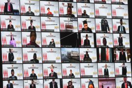 Sidang tahunan parlemen secara virtual
