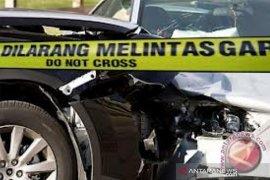 Tiga truk besar terlibat kecelakaan beruntun di Tol Cipularang, dua sopirnya tewas tergencet