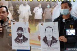Ini sketsa pelaku penembakan di Kelapa Gading yang menewaskan bos pelayaran