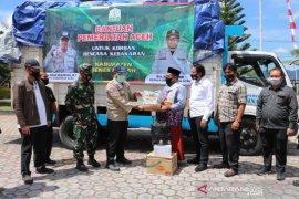 Pemprov Aceh salurkan bantu bagi korban kebakaran di Bener Meriah