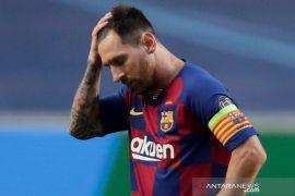 Messi dikabarkan tidak ikut  latihan Barcelona