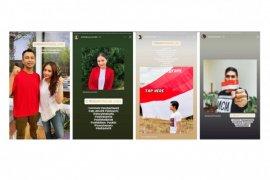 Instagram dan Snapchat semarakkan HUT ke-75 RI dengan stiker #MerahPutihChallenge di Indonesia