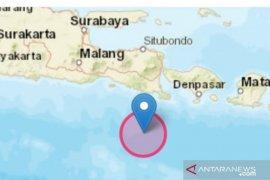 Getaran gempa magnetudo 5,3 di Jembrana Bali terasa hingga Jember