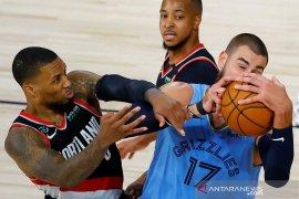 Blazers  rebut tempat terakhir playoff setelah singkirkan Grizzlies