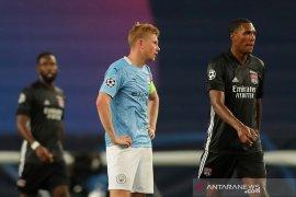De Bruyne menyebutkan kekalahan lawan Lyon cerminan performa City semusim
