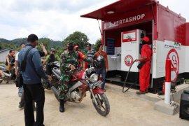 Pertamina kembali resmikan satu Pertashop di Kabupaten Mempawah