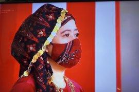 Puan Maharani hadir di Istana kenakan Tekuluk Bai Bai dari Jambi