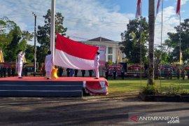 Upacara HUT RI ke-75 di Belitung berlangsung khidmat