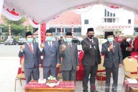 Anggota DPRD Banjarbaru ikuti upacara peringatan HUT RI