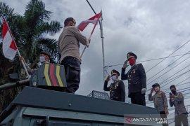Polresta Banjarmasin ajak pengguna jalan ikuti upacara detik detik proklamasi
