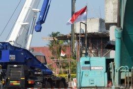 Proyek konstruksi Jalan Tol Cibitung-Cilincing ambruk di Jakut