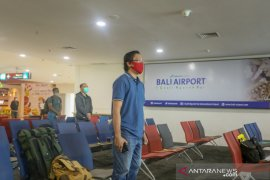 HUT ke-75 RI, Bandara Ngurah Rai Bali kumandangkan lagu kebangsaan di terminal domestik
