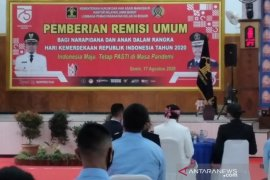 534 narapidana Lapas Paledang Kota Bogor dapat remisi hari kemerdekaan