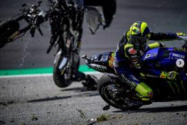 Ini pesan Valentino Rossi pscatabrakan mengerikan di GP Austria