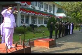 Bupati Langkat pimpin upacara HUT ke-75 RI