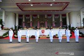 Upacara Peringatan Detik-Detik Proklamasi Kemerdekaan RI berlangsung khidmat