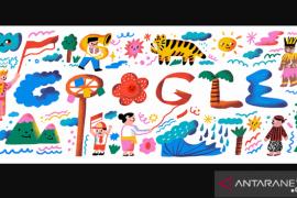 """Makna """"Bhinneka Tunggal Ika"""" di Google Doodle untuk HUT RI ke-75"""
