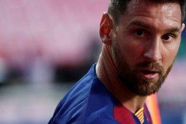 Messi ingin akhiri pertentangan di Barcelona