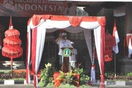 HUT ke-75 RI, Upacara Peringatan HUT Kemerdekaan di Tabanan terapkan protokol kesehatan