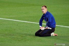 Alami cedera lutut, Penjaga gawang Barcelona  Marc-Andre ter Stegen segera jalani operasi