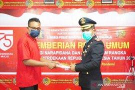 594 WBP Lapas Pulo Simardan Tanjungbalai dapat remisi