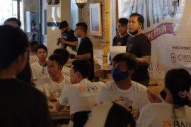 HUT ke-75 RI, 90 peserta ikuti Lomba Makan di Mangsi Grill Denpasar