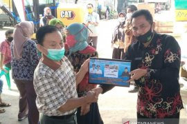 Dinas Perikanan Bangka Tengah salurkan bantuan untuk kelompok nelayan