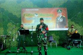 Pangdam Pattimura ajak wartawan di Ambon bersinergi wujudkan Maluku aman