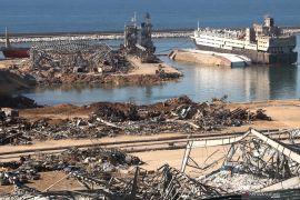 Kuwait akan bangun kembali silo Lebanon yang hancur akibat ledakan masif