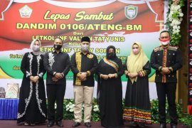 Letkol Inf Teddy Sofyan jabat Dandim 0106 Aceh Tengah