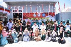 Bupati Aceh Tengah ajak anak tuna rungu kampanyekan pakai masker