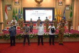 Saat berkunjung ke Banten, KPK: Pemda perkuat pengawasan intenal untuk cegah korupsi