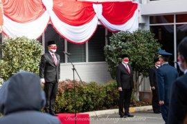 KBRI Canberra mengadakan upacara HUT RI dengan protokol kesehatan ketat