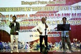 "Lomba vocal solo lagu Batak ""Annisa Boru Panggoranki"" dengan total hadiah Rp50 juta dibuka bupati Tapteng"