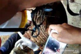 Tim  gabungan Sukabumi berhasil evakuasi jasad pria dalam sumur