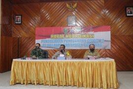 Tiga Pilar Tabalong melaksanakan rakor penegakan  protokol kesehatan