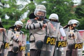 Kapolda Kalbar ajak pejabat polda latihan pengendalian massa pengamanan pilkada
