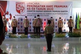 Wagub Banten  Andika Hazrumy  minta Pramuka aktif bantu penanganan COVID-19