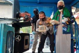 Polda Banten musnahkan 303 kilogram ganja