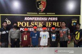 Unit Reskrim Polsek Jebus ringkus komplotan pencuri