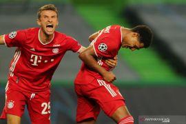 Penyerang Bayern  Gnabry jelaskan inspirasi di balik selebrasi mengaduk ciri khasnya