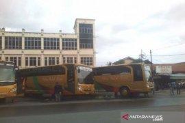 Bus antarprovinsi mulai beroperasi di Terminal KM-6 Banjarmasin