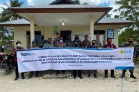 TNI bantu PLN sosialisasi bahaya listrik di Sikka