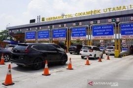 78.114 unit kendaraan tinggalkan Jakarta melalui Tol Jakarta-Cikampek